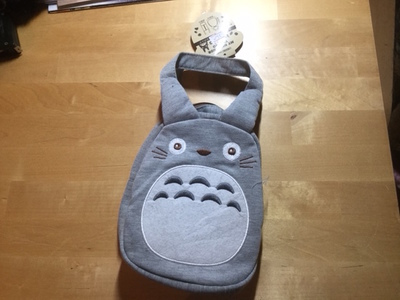 TOTORO MINI BAG GRIGIA STUDIO GHIBLI