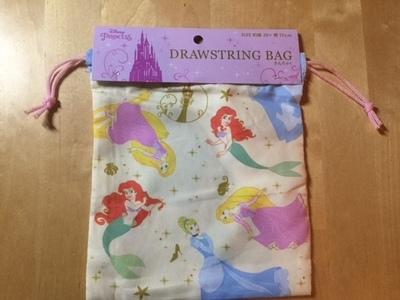 DISNEY PRINCIPESSA DRAWSTRING BAG