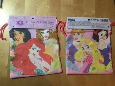 DISNEY PRINCIPESSE DRAWSTRING BAG 2