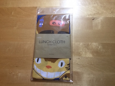 TOTORO LUNCH CLOTH STUDIO GHIBLI