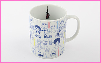 BARBIE X SKYTREE MUG