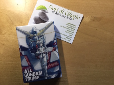 GUNDAM TRUMP CARD CARTE DA GIOCO