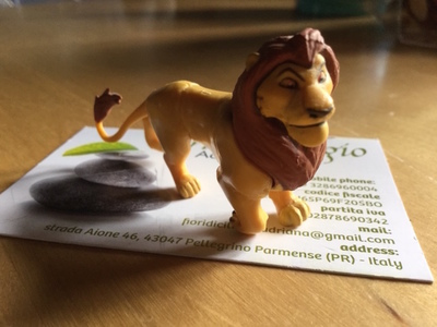 MUFASA FIGURE DISNEY
