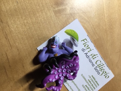 URSULA MINI FIGURE PUTITTO DISNEY