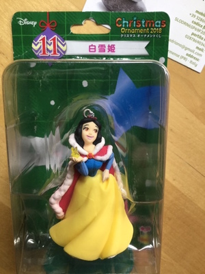 BIANCANEVE SNOWHITE CHRISTMAS ORNAMENT DISNEY