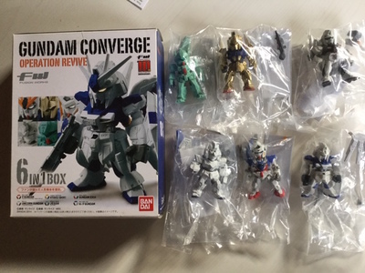 Gundam Converge - Operation Revive 6 IN1 BOX 10th ANNIVERSARY