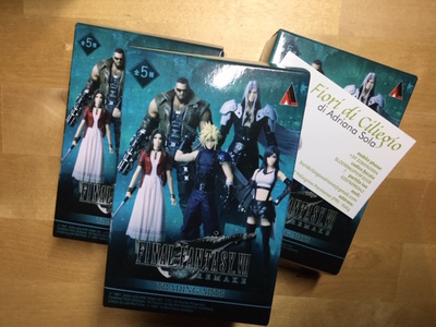 FINAL FANTASY VII TRADING ARTS 5 SQUARE ENIX