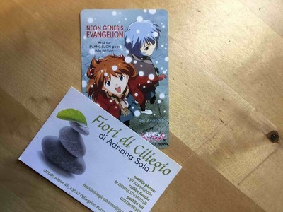 EVANGELION NGE TELEPHONE CARD