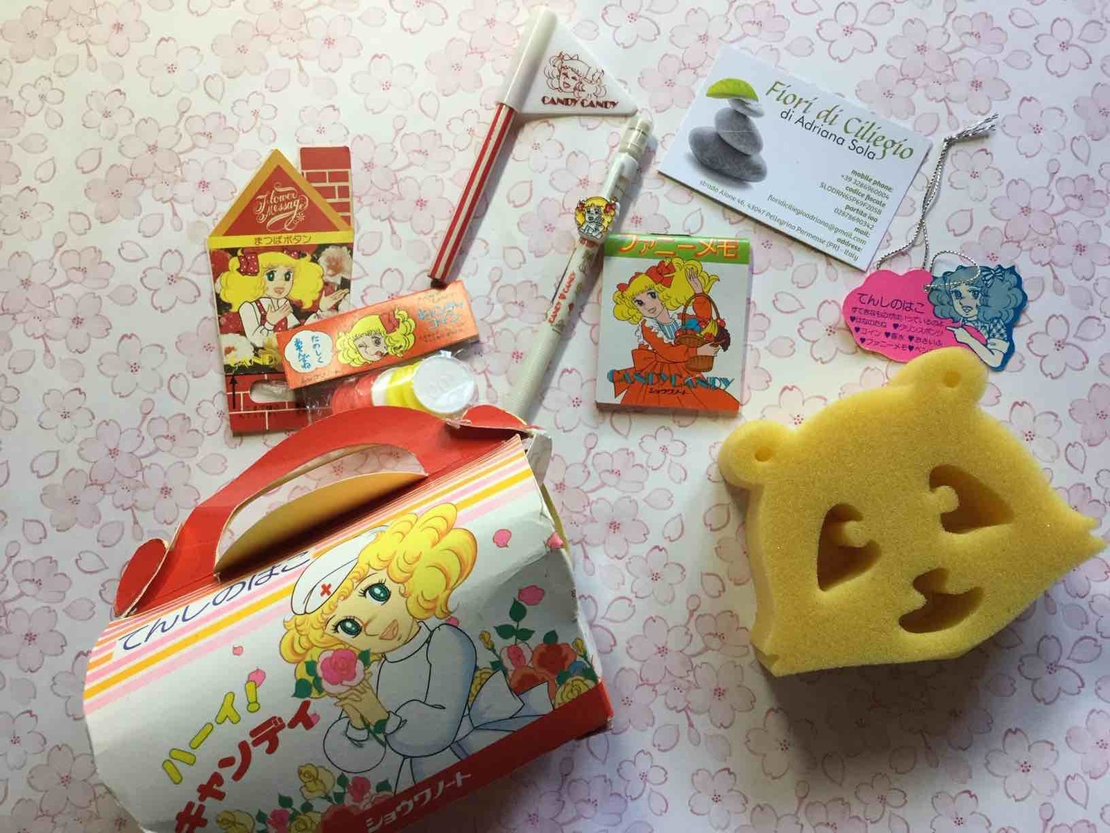 Candy Candy stationery set.jpg