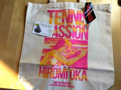 JENNY LA TENNISTA SHOPPER BAG BANDAI