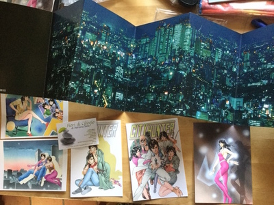 CITY HUNTER TSUKASA HOJO POSTCARD SET