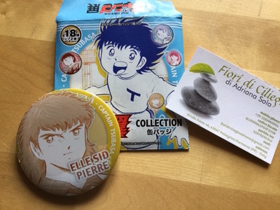 CAPITAN TSUBASA PIN COLLECTION ELLE SID