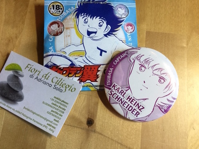 CAPITAN TSUBASA PIN COLLECTION KARL HEINZ