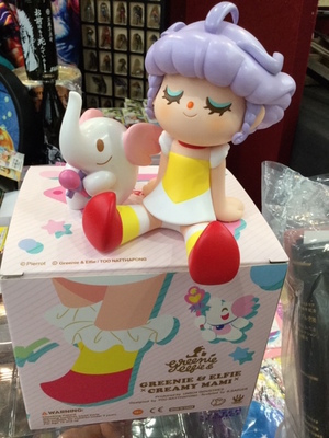 CREAMY MAMI GREENIE & ELFIE YELLOW UNBOX INDUSTRIES AKEMI TAKADA