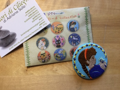 LAPUTA PIN EMBROIDERY STUDIO GHIBLI