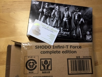 SHODO INFINI-T FORCE COMPLETE EDITION