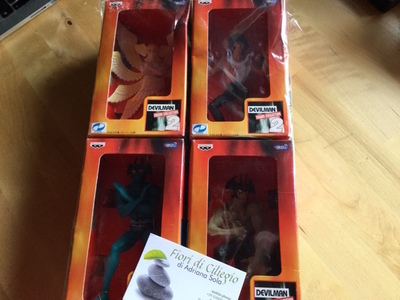DEVILMAN 4 FIGURE COLLECTION BANPRESTO GO NAGAI 75606