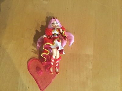 PRECURE SCARLET FIGURE CANDY TOY