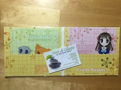 FRUITS BASKET CD PAPER COVER NATSUKI TAKAYA