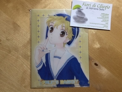 FRUITS BASKET MINI CLEAR FILE MOMIJI NATSUKI TAKAYA
