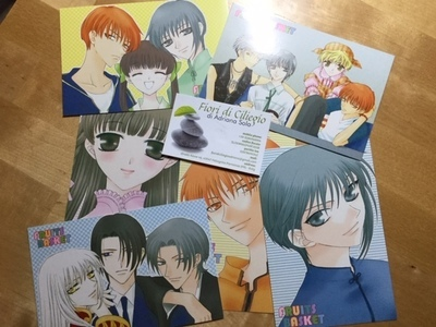 FRUITS BASKET POSTCARD SET NATSUKI TAKAYA